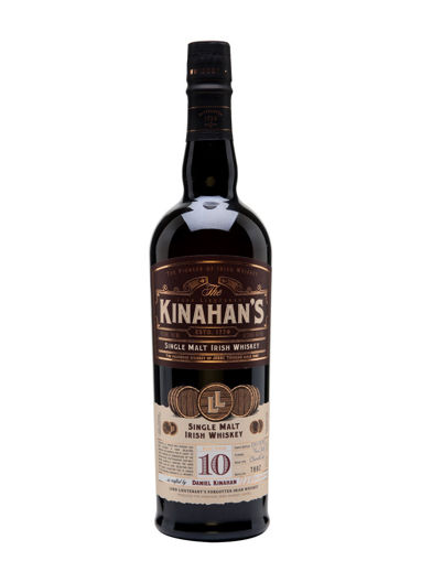 Slika Kinahan's 10 Years Old Single Malt Irish Whiskey 46% Vol. 0,7l in Giftbox