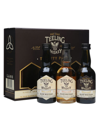 Slika Teeling Whiskey TRINITY PACK Irish Whiskey 46% Vol. 3x0,05l