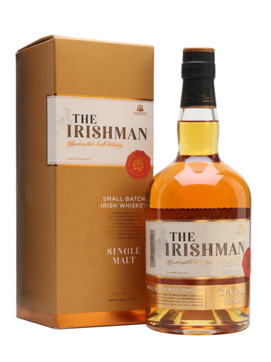 Slika The Irishman SINGLE MALT Small Batch Irish Whiskey 40% Vol. 0,7l in Giftbox