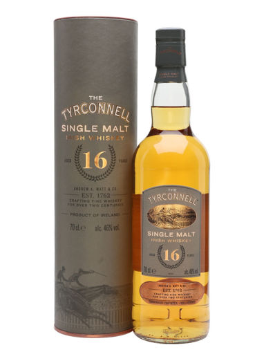 Slika The Tyrconnell 16 Years Old Single Malt Irish Whiskey 46% Vol. 0,7l in Giftbox