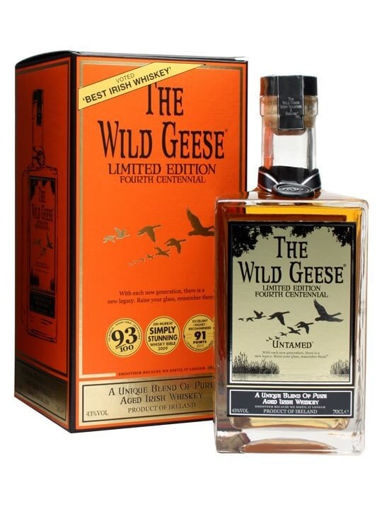 Slika The Wild Geese 4th Centennial Untamed Limithed Edition 43% Vol. 0,7l in Giftbox