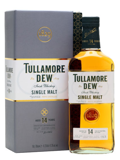 Slika Tullamore D.E.W. 14 Years Old Single Malt Irish Whiskey 41,3% Vol. 0,7l in Giftbox