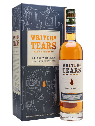 Slika Writer's Tears CASK STRENGTH Irish Whiskey Limithed Edition 2018 53% Vol. 0,7l in Giftbox