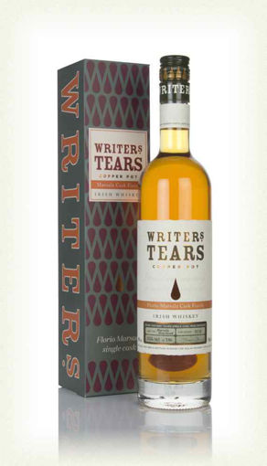 Slika Writer's Tears Copper Pot Florio Marsala Cask Finish Irish Whiskey 45% Vol. 0,7l in Giftbox