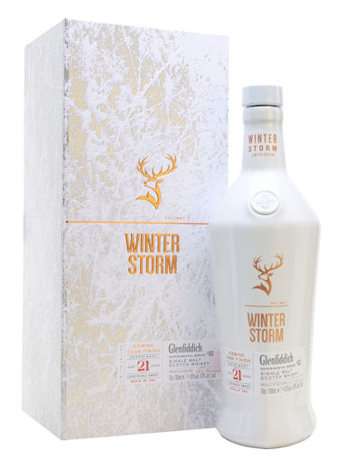 Slika Glenfiddich 21 Years Old WINTER STORM Icewine Cask Finish 43% Vol. 0,7l in Giftbox