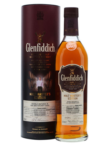 Slika Glenfiddich MALT MASTER'S EDITION Single Malt Scotch Whisky 43% Vol. 0,7l in Giftbox