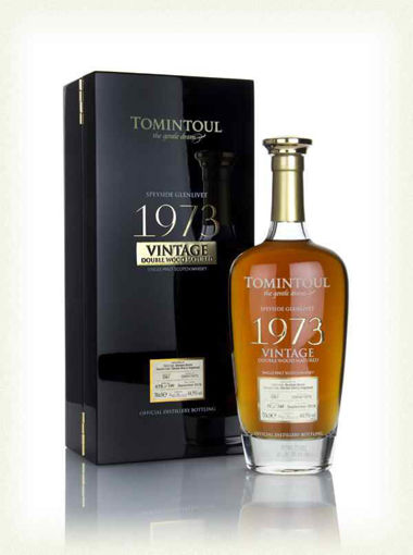 Slika Tomintoul VINTAGE Double Wood Matured 1973 44,5% Vol. 0,7l in Giftbox