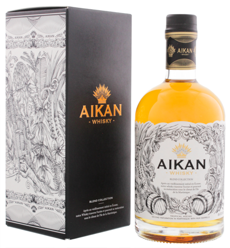 Slika Aikan Whisky Blend Collection Batch No. 2 43% Vol. 0,5l in Giftbox