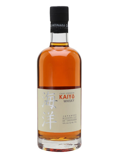 Slika Kaiyō Whisky Japanese Mizunara Oak CASK STRENGTH 53% Vol. 0,7l