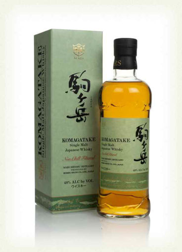 Slika Mars KOMAGATAKE Single Malt Japanese Whisky Limited Edition 2019 48% Vol. 0,7l in Giftbox