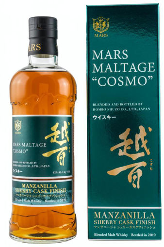 Slika Mars Maltage COSMO Manzanilla Cask Finish 42% Vol. 0,7l in Giftbox