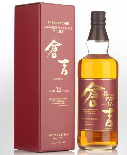 Slika Matsui Whisky THE KURAYOSHI 12 Years Old Pure Malt Whisky 43% Vol. 0,7l in Giftbox