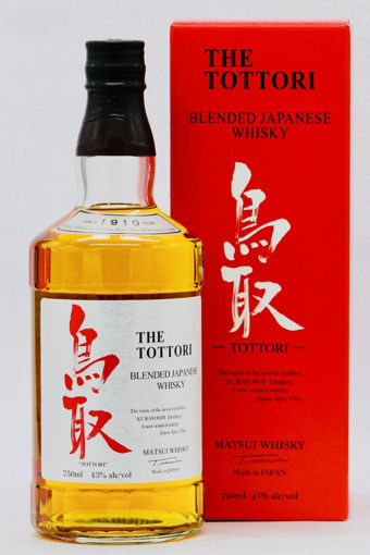 Slika Matsui Whisky THE TOTTORI Blended Japanese Whisky 43% Vol. 0,7l in Giftbox