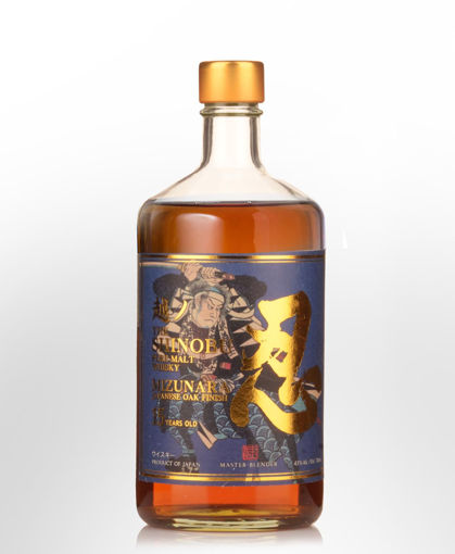 Slika The Shinobu Pure Malt 15 Years Old Whisky MIZUNARA Japanese Oak Finish 43% Vol. 0,7l