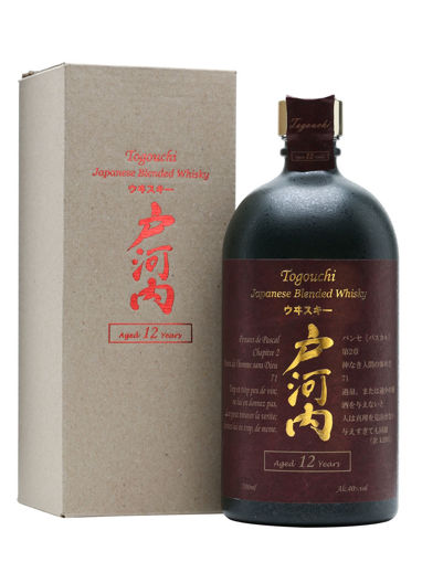 Slika Togouchi 12 Years Old Japanese Blended Whisky 40% Vol. 0,7l in Giftbox