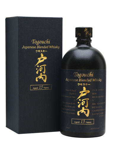 Slika Togouchi 15 Years Old Japanese Blended Whisky 43,8% Vol. 0,7l in Giftbox